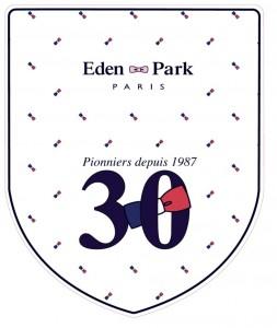 ecusson 30 Eden Park